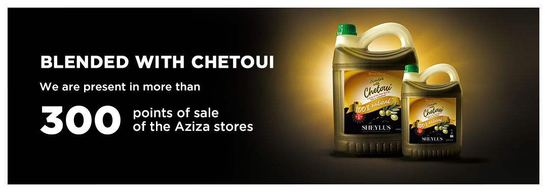 olive oil blended with chetoui
